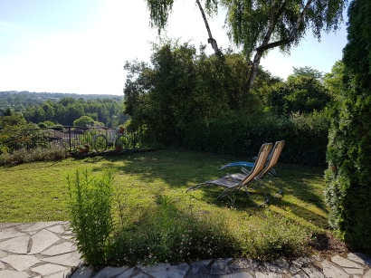garden with a view